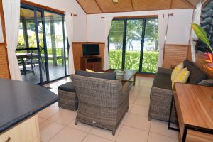 Lounge area - accommodation in Vanuatu